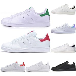 Adidas Stan Smith Frühling Kupfer Weiß Rosa Schwarz Mode Schuh Mann Casual Leder marke frau herrenschuhe Wohnungen Turnschuhe 36-44