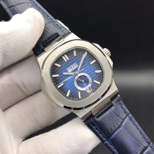 Top Master macht hochwertige Nautilus 5726 / 1a-001 mechanische Uhr der automatischen Männer, Edelstahluhr 40.5mm wasserdicht Männer Saphir'