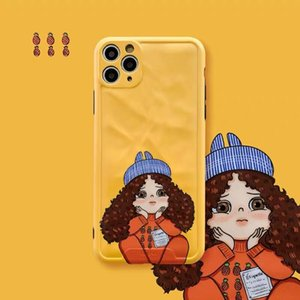 phone case for iPhone 11 Pro 11 X Xr Xs XsMax 7 7Plus 8 8Plus with Little girl