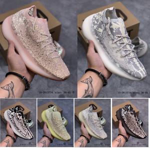 Scarpe nuovi sport 380 380 V3 Kanye West Alien corridore dell'onda Bianco Nero Argilla Zebra 700 Mens scarpe da corsa delle donne Desinger Sneakers Trainers