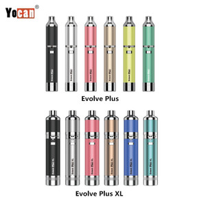 Authentisches 1PC Yocan Evolve Plus-2020 Neue Version Evolve Plus-XL Wax Vape Pen mit QDC QUAD Spulen Dabber Atomizer Trockenkräuteröl Vaporizer Kit
