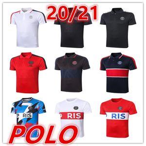 2020 2021 новый париж мужские футболки поло футбол Джерси 20 21 мужчины футбол Поло Футбол Униформа Спортивная рубашка поло трикотажные изделия футбола
