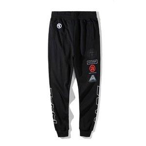 Designer Pants Mens Fashion Casual Pants AAPE High Quality Beam Foot Trousers Mens Designs M-2XL