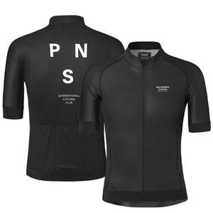 2019 Pro Team PNS Summer Cycling Jersey para hombre de manga corta de bicicleta de secado rápido MTB Bike Tops ropa desgaste de silicona antideslizante