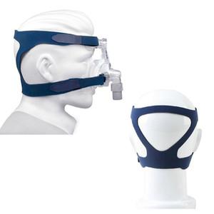 Cpap 마스크 | CPAP 헤드 기어 | CPP 비강 마스크 Cpap 머신 용 헤드 기어가있는 수면 가면 마스크 수면 가사 CE MDA가 통과 한 FDA