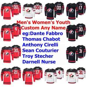 2019 IIHF World Championship Canada Hockey maglie Anthony Mantha Jersey Adam Henrique Kyle Turris Thomas Chabot Reinhart personalizzato cucito
