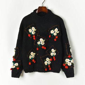 N14 2019 Осень Черный Colorblock Вязаная Лоскутная пуловеры свитер с длинным рукавом Экипаж шеи Мода Свитера X1910PUP91003