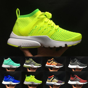 Presto Ultra BR QS Verde Zapatos para correr Mujer Hombre Zapatillas Moda Rojo Naranja Amarillo Negro Calzado deportivo para correr Zapatos de diseño Talla 36-45