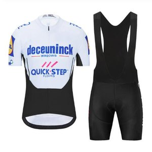 Quick-step team Cycling Short Sleeves jersey shorts sets cycling clothing breathable outdoor mountain bike Cycling jerseys Latest