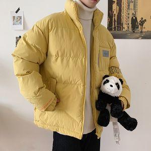 2019 UYUK col hiver Lovers Overstuffed Fashion Student Marque coton matelassée Veste Département japonais Homme
