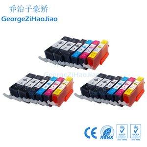 Canon için 18 X 520XL Uyumlu Mürekkep Kartuşları PIXMA IP3600 IP4600 IP4700 MX860 MX870 Yazıcı PGI520 PGI 520