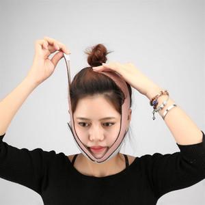 Maschera facciale che dimagrisce fasciatura Viso Massager Chin Cheek V Face Lift Cintura sottile Maschera massaggiatore