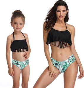 popolare nappa diviso padre-figlio costume da bagno bikini costume da dividere bambini donne ragazze sexy volare yakuda eleganti flessibile set di leopardo bikini