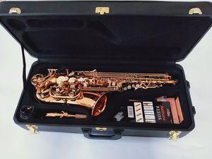 2020 Marca Top New YANAGISAWA Alto Saxophone A-992 WO20 ouro laca Sax profissionais Bocal Patches Pads Reeds Dobre Neck