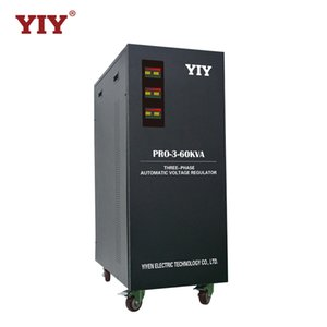 PRO-3-60KVA YIY AC automatic voltage regulator stabilizer 3-PHASE 4-WIRE OR 3-PHASE 3-WIRE MCU CONTROL OVERLOAD PRETECTION servo type motor