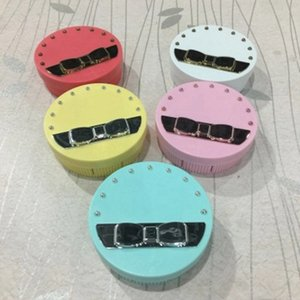 Ronde de lentilles de contact Boîte avec miroir Lentilles de contact Lunettes Lentilles Voyage Boîte yeux Kit Porte-outils Container RRA2560