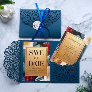 inviti di nozze di nozze 50pcs Style Save the date cartoline Capodanno decorazione della cartolina d'auguri feste