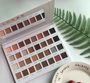 Mais novo LORAC PRO 32 cores paleta da sombra de olho Blush Eyeshadow maquiagem LORAC Limited Edition férias Mega