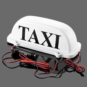 CAR Taxi Top Light / LED del techo Nueva Muestra del taxi 12V opcional con base magnética verde / rojo / azul / blanco