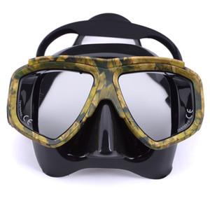 Профессиональный дайвинг маска анти туман для подводной охоты передаточных плавательных масок Googles водного спорта подводного плавание маски