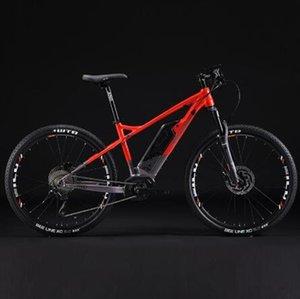 27.5inch XC ebike montaña 350w Mediados -vehiculos inteligente bicicleta eléctrica mountian PESU E-BIKE 500wh batería de litio velocidad máxima 50 kmh