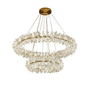 Современная роскошь Gold Metal Кри Главной Living Room Hotel Pendant Light Garland Firefly лампа PA0591