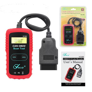 Automotive OBD2 Code Reader OBD2 Scanner Car Check Engine Fault Diagnostic Tool VC300 VC300 Auto Mobile Diagnostic Tool