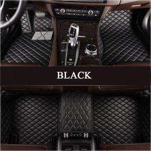 Alfombra personalizada de cuero LUNDA PU para BMW GT F10 F11 F15 F16 F20 F25 F30 F34 E60 E70 E90 1 3 4 5 67 Serie XDRIVE CAR SELLERS