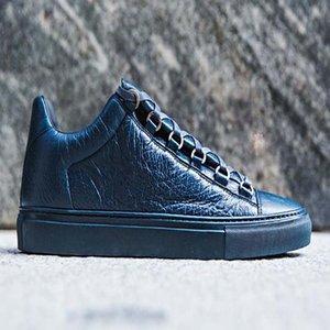 2020 Trend Платформа Мужчины Женщины Повседневная обувь имя Lovers Белая кожа Спортивные кроссовки Lovers Довольно обуви Sneaker AP8