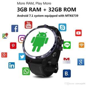 LEMFO LEM12 intelligente Guarda 4G Face ID 1.6 pollici Schermo intero sistema operativo Android 7.1 3G RAM 32G LTE 4G ROM di Sim GPS WIFI frequenza cardiaca Uomini Donne