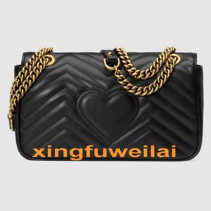 Borsa a tracolla delle donne PU di modo di modo di modo della borsa della catena della borsa della catena della borsa della donna della borsa della borsa della mano della borsa della donna di colore puro della borsa della donna di colore puro