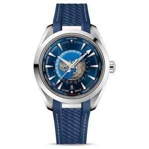 Swiss Brand Top Luxury Mens Relógios Master Deisgner Waterproof Watch Watch Aqua 8900 Movimento Automático Terra Sapphire Vidro Relógio Original Clasp