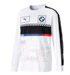 BMW Motocross T-shirt Cycling Casual Wear Motorcycle Clothing Motorcycle Rider Ventilation Quick-drying Long-sleeve Racing T-shirt