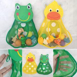 Banho Gadget saco de armazenamento Organizer pode ser instalado sobre parede do bebê Brinquedos saco de armazenamento multiuso sacos de malha Sundries Pouch
