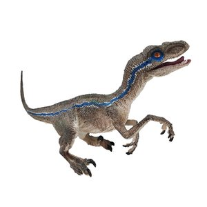Jurassic Dinosaur Toys Blue Velociraptor Dinosaur Action Figure Animal Model Toy Collector Action Play Figure One Piece Deco
