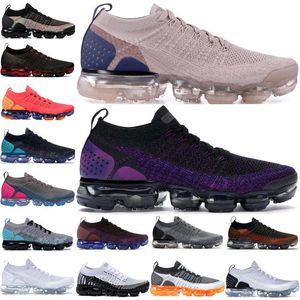 2020 I vapori Fly 2.0 Diffusa Taupe CNY Safari Mens scarpe da corsa Designer traspiranti Jogging escursionismo Donne Sneakers Trainers Airs Size 36-45