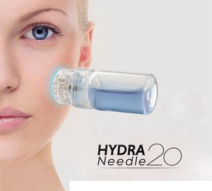 Hydra Needle 20 Aplicador de suero Aqua Gold Microchannel MESOTERAPIA Tappy Nyaam Nyaam Fine Touch Derma Stamp Hydra Needle Roller