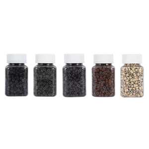 500pcs Silicone Lined Micro Rings Beads for Hair Extensions 5mm