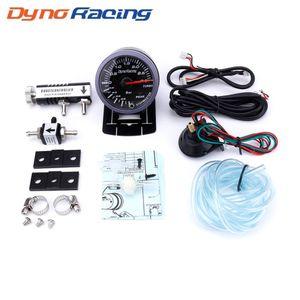 Dyoracing 60MM Car Turbo Boost calibre 3bar Com ajustável Turbo Boost Controlador Kit 1-30PSI na cabine do medidor Car