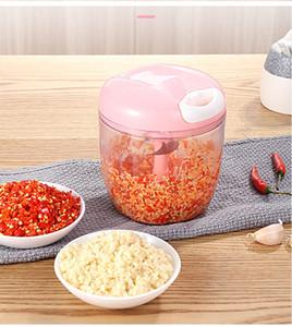 Mini Manual Molinos de carne Licuadora Frutas Verduras Herramientas de cocina Pequeños procesadores de alimentos Calabaza triturada en casa Herramientas