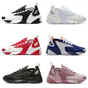 ZM M2K Tekno Erkek Tasarımcı Koşu Ayakkabı Hava Zoom 2 k baba Ayakkabı Kadın Deri Eğitmenler 2000 Açık Yürüyüş Spor Sneakers Boyutu 36-45