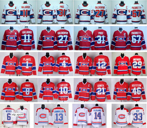 Montreal Canadiens Hockey 27 Alex Galchenyuk Jersey 2016 Winter Classic 65 Andrew Shaw 92 Jonathan Drouin 4 Jean Beliveau 65 Andrew Shaw