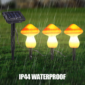 Mushroom Solar Lamp Power LED String Fairy Light Garlands Garden Christmas Decor LAMP For Outdoor