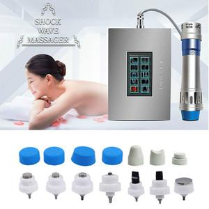 Le plus récent écran tactile Shockwave thérapie par ondes de choc machine de physiothérapie machine pour le traitement ED pour utilisation à domicile