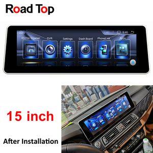 "15.6"" Android 6 Autoradio GPS-Navigation Head Unit-Schirm für BMW F10 F11 520i 523i 528i 530i 535i 550i 518d 520d 525d 530d 535d"