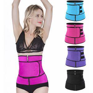 4 colores Body Shaper Adelgaza Wrap Cinturón Cinturón Entrenador Cincher Corset Fitness Sudor Cinturón Faja Fajas Tallas grandes Mujer Hombre Fajas Sauna