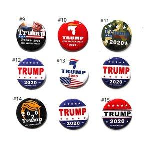 Turno Trump 2020 Spilla mantenere l'America Grandi lettere Stampa Pins Bernie Sanders Distintivo Pin Spilla Elezioni presidenziali Spille Pins E22808