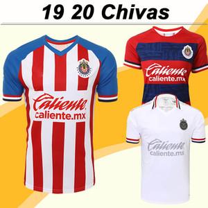 2019 Chivas de Guadalajara Fussball Jersey A. PULIDO LOPEZ Home Away 3. kurze Hülsen-Fußball-Hemden T-Shirt de fútbol Sleeve Uniformen