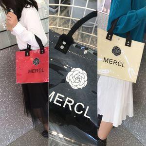 Export 2020 flower-arranging single Export women's bag 2020 bags & shoes shoulder portable PVC letter portable women's bag