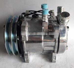 505 универсальный AC компрессор sanden автоматический универсальный AC компрессор 12В/24В шкив 125мм